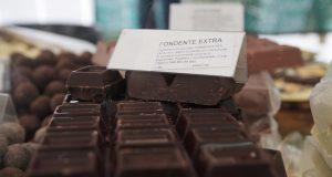 un prato di cioccolato