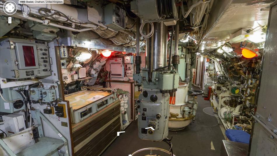Dentro ad un sottomarino con google for Cabine della foresta lacustre