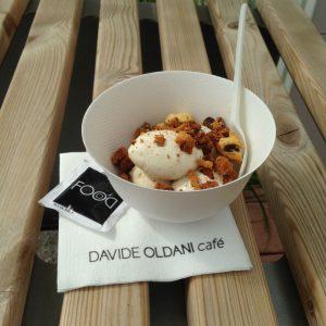 il gelato al panettone di Oldani