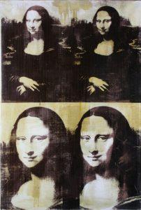 Andy WARHOL-Mona Lisa-Four Times_1979