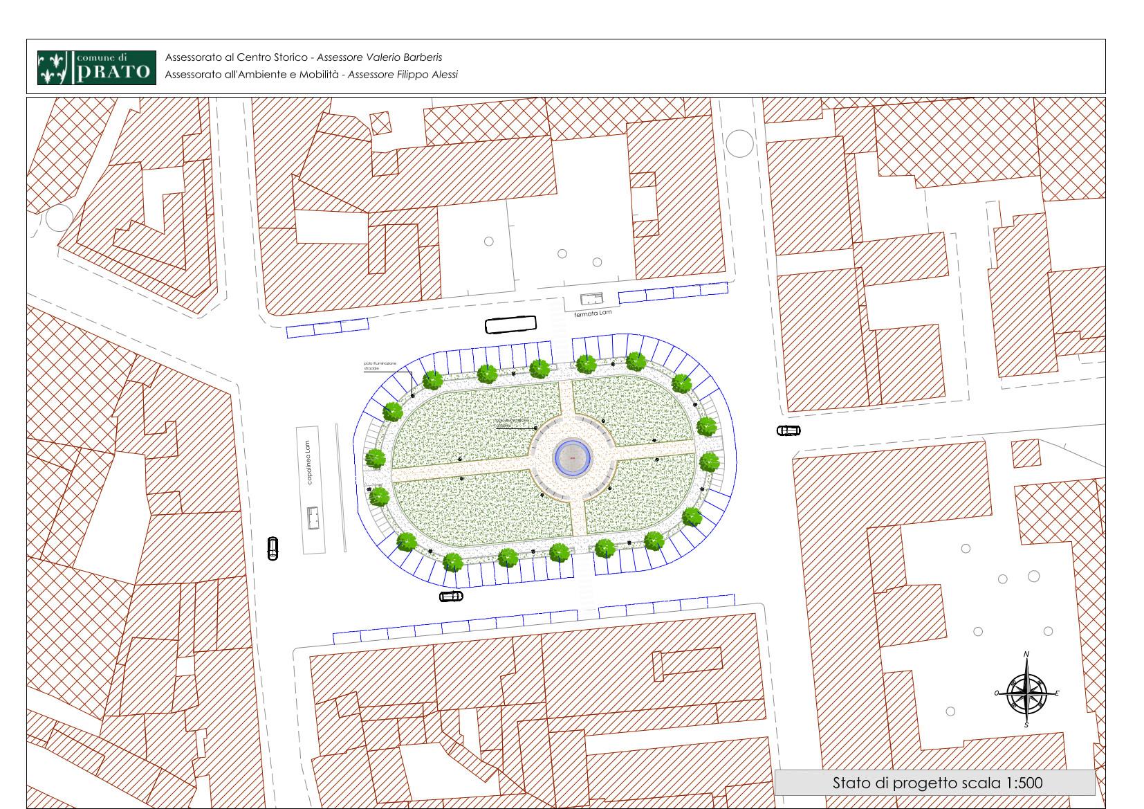 Piazza Ciardi Stato di Progetto A3 (1)