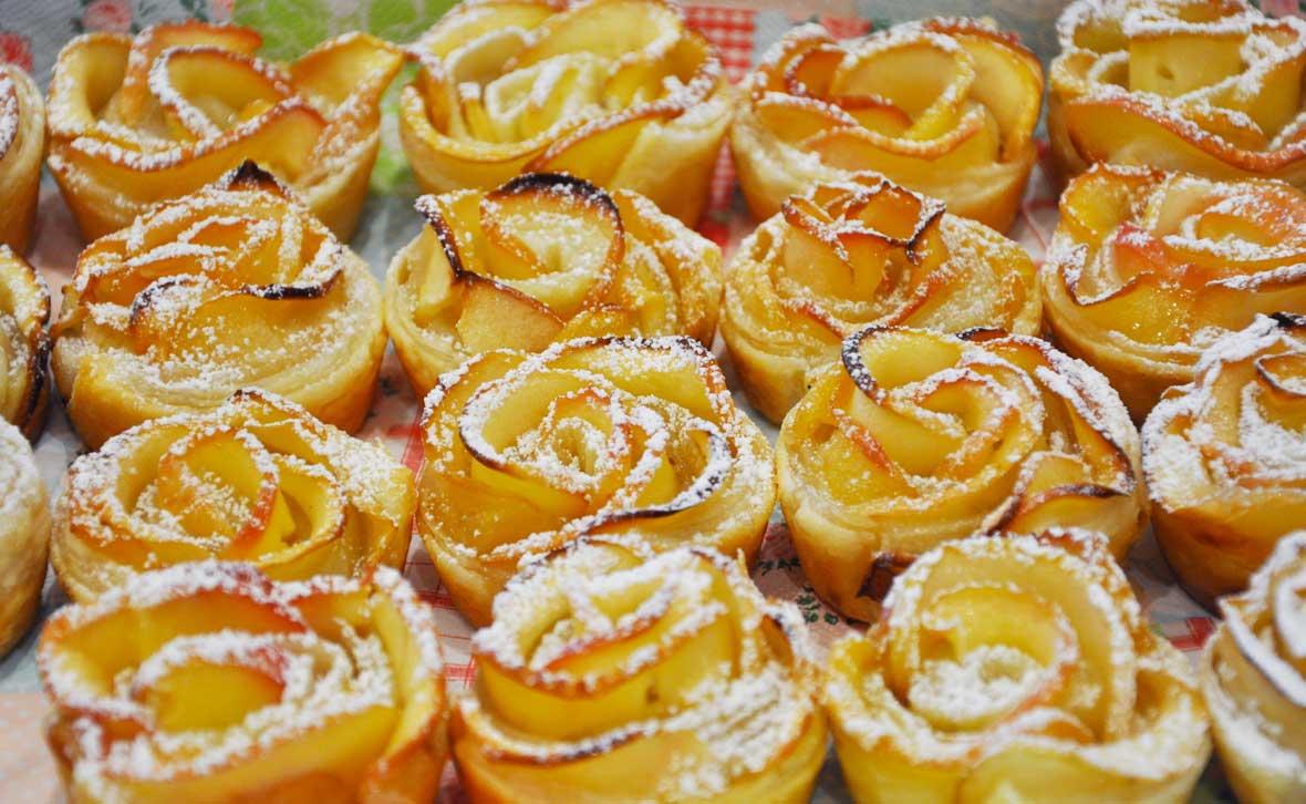 spesso Le ricette di Lorena: le rose di mele OS16