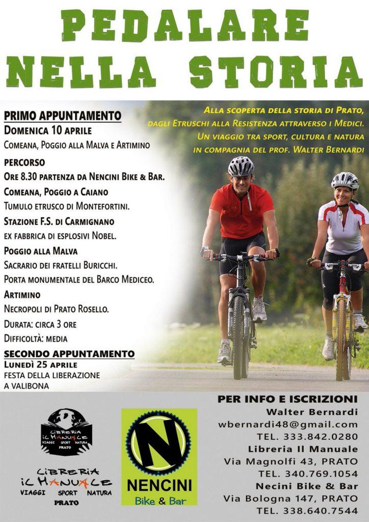 Alla scoperta della storia di prato in mountain bike for Savio 724 ex manuale