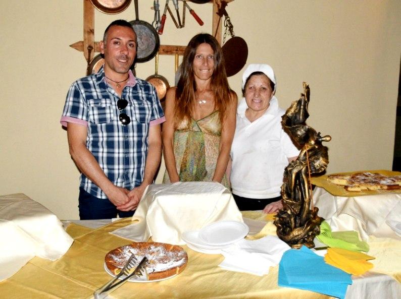Francisco Garden, Silvia Borsi e Graziella Ferrarello