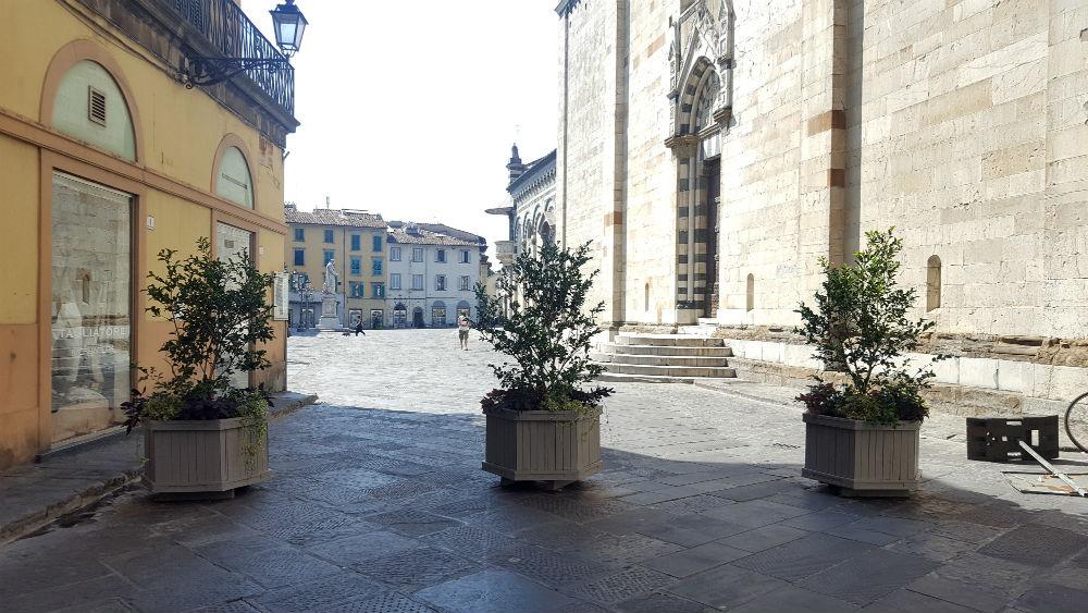 Prato piazza duomo diventa pedonale ecco cosa cambia for Piazza duomo prato