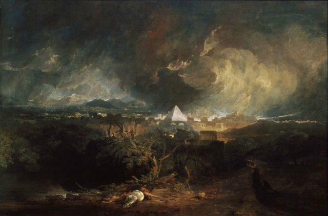 Turner - The Fifth Plague of Egypt