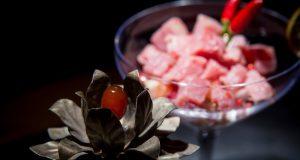 pietre preziose piatti gourmet