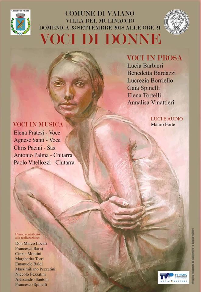 Una serata dedicata alla lotta contro la violenza sulle donne alla villa del Mulinaccio.