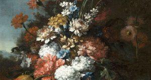 fiori dipinti nel '600 napoletano